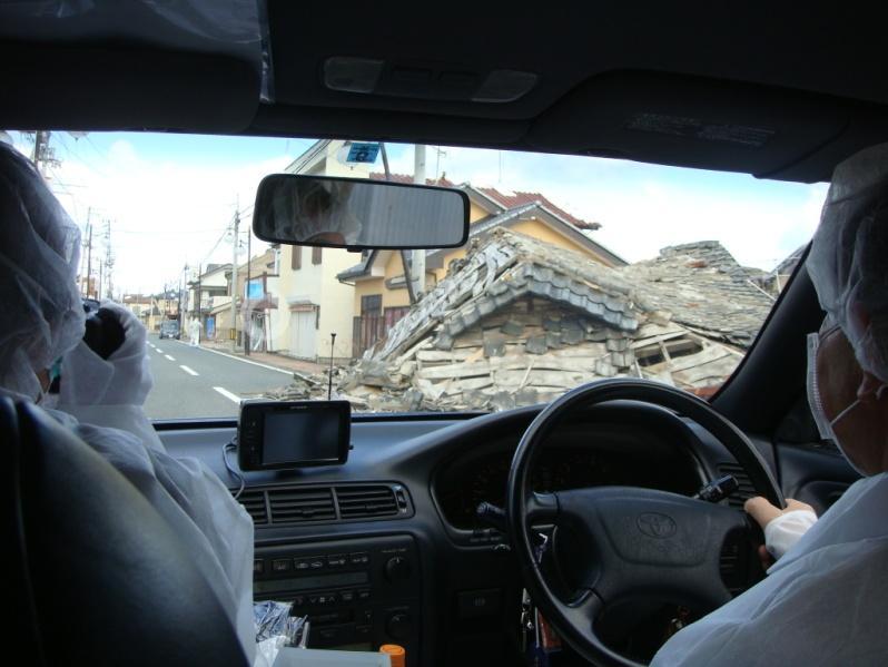 Trois ans après, dans la zone interdite de Fukushima